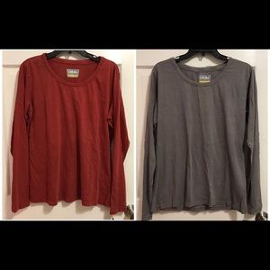 2 NWT Cabela's long sleeve shirts